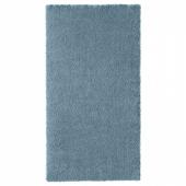 СТОЭНСЕ Ковер, короткий ворс,классический синий
